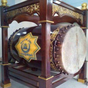 Jual Bedug Masjid Berkualitas Harga Termurah. Grosir Bedug 125 x 175 cm